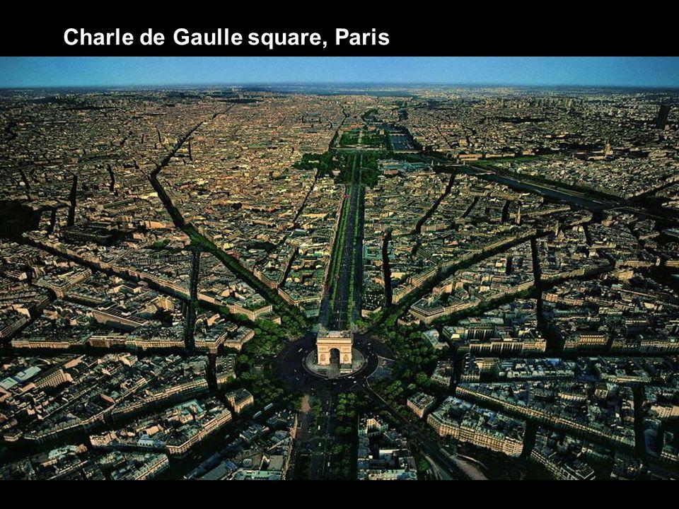Charle de Gaulle square, Paris
