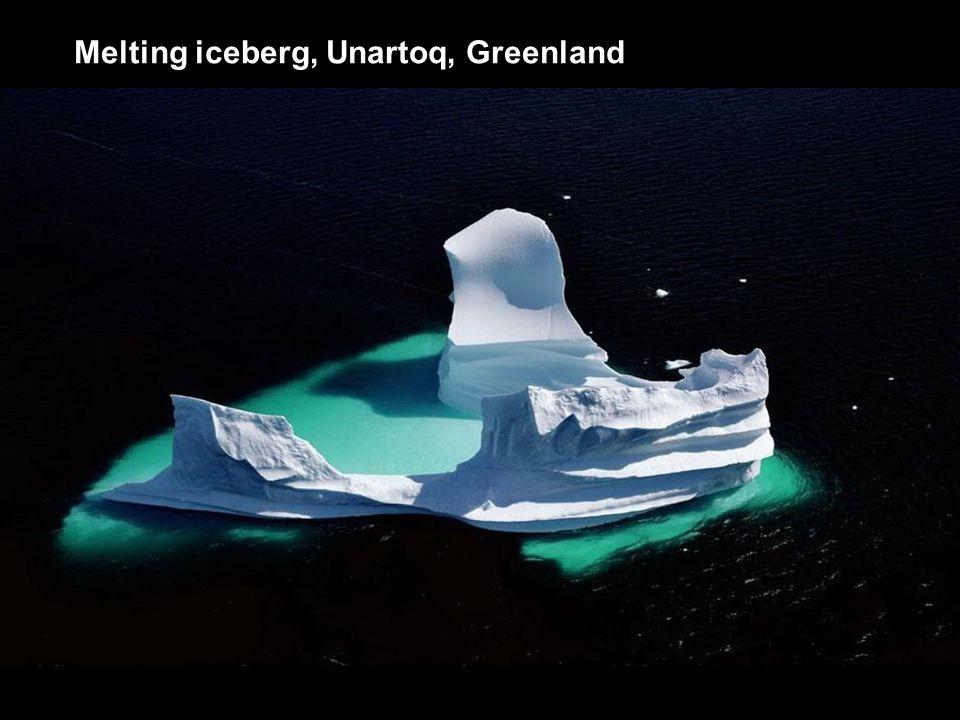 Melting iceberg, Unartoq, Greenland