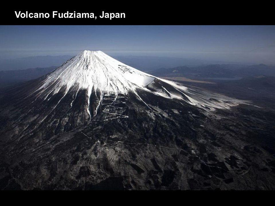 Volcano Fudziama, Japan