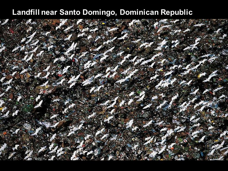 Landfill near Santo Domingo, Dominican Republic