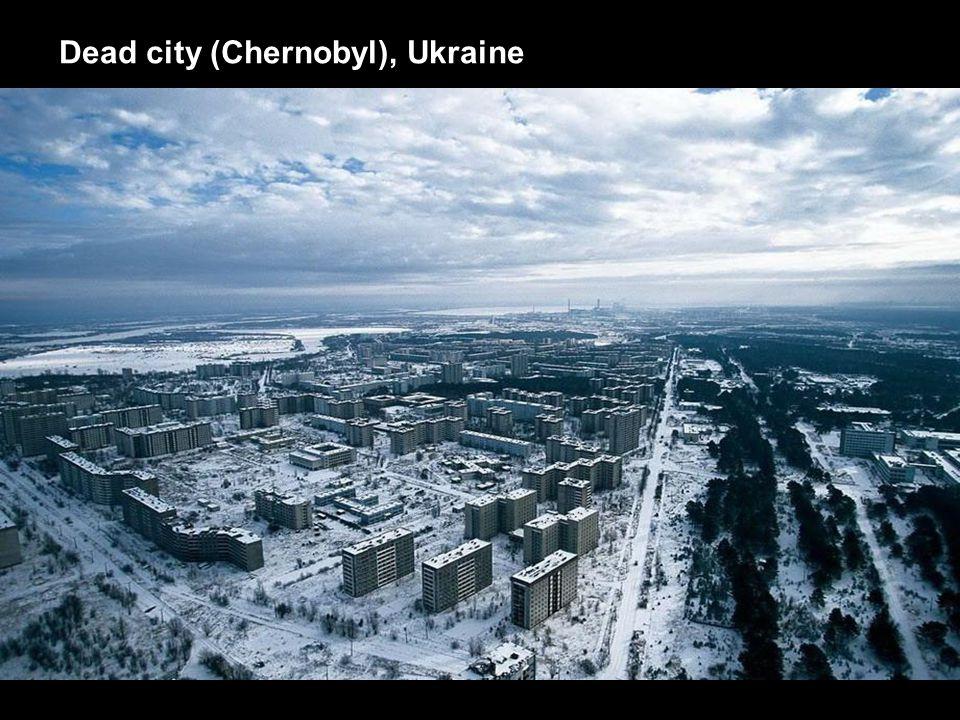 Dead city (Chernobyl), Ukraine