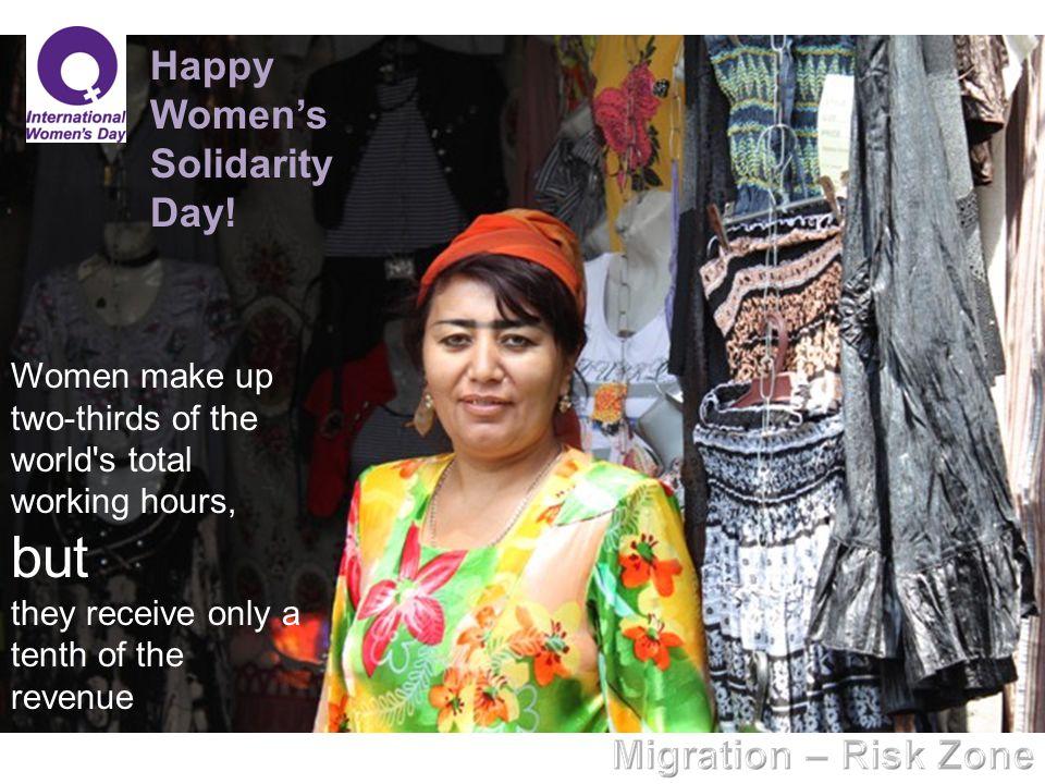 Happy Women's Solidarity Day.