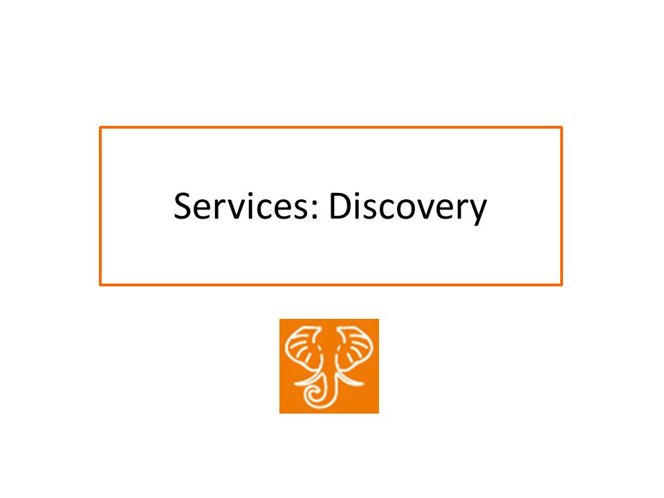 Services: Discovery