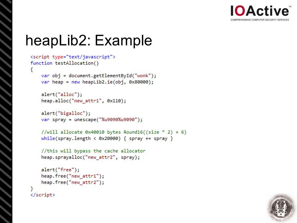heapLib2: Example