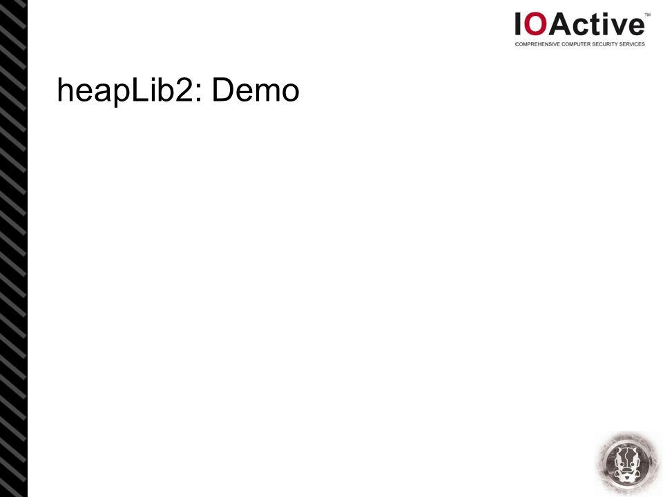 heapLib2: Demo