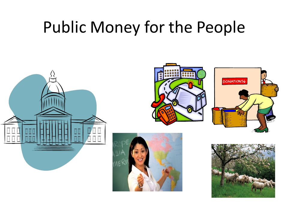 Public Money for the People