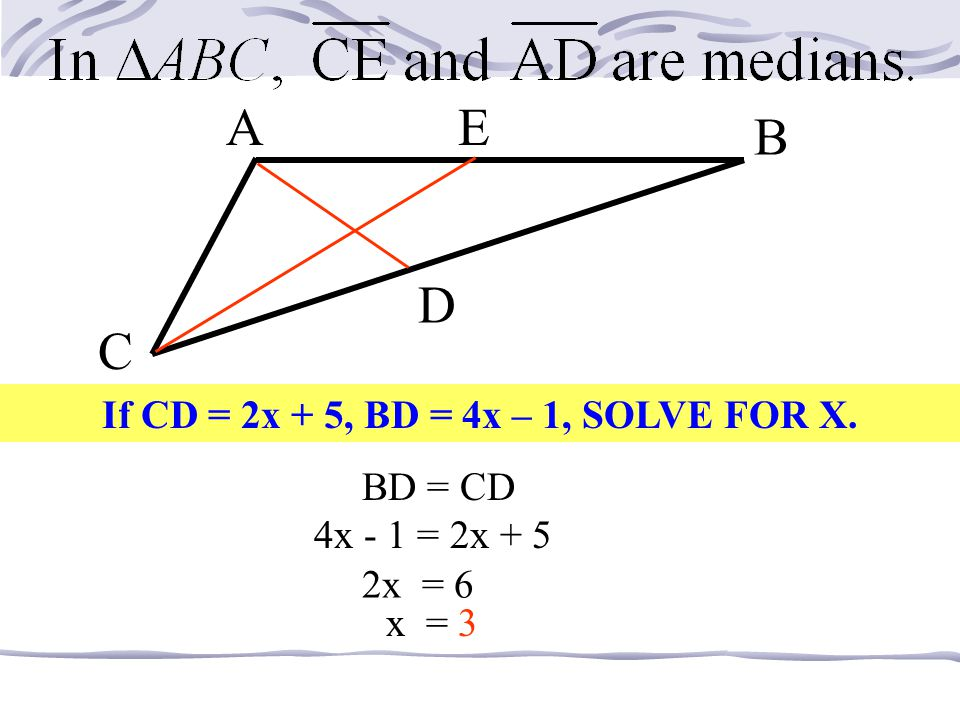 MDP N C What is NC if NP = 18? 9 MC bisects NP…so 18/2 If DP = 7.5, find MP. 7.5 + 7.5 = 15