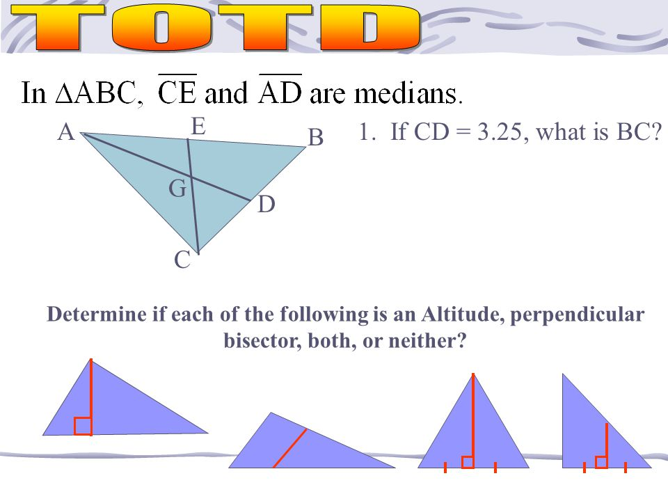 The orthocenter, circumcenter, and the centroid are COLLINEAR in EVERY triangle!