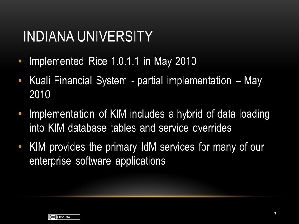 FUTURE PLANS Upgrade to Rice 1.0.3 – early 2011 Kuali Coeus 3.0 – coming July 2011 Kuali Financial System – full implementation – Q4 2012 Integrate Role assignment with our HR system at time of hire or position change Integrate KIM roles and permissions with our Decision Support and reporting environments Begin modeling more Roles at IU using KIM to facilitate authz and role-based routing 14