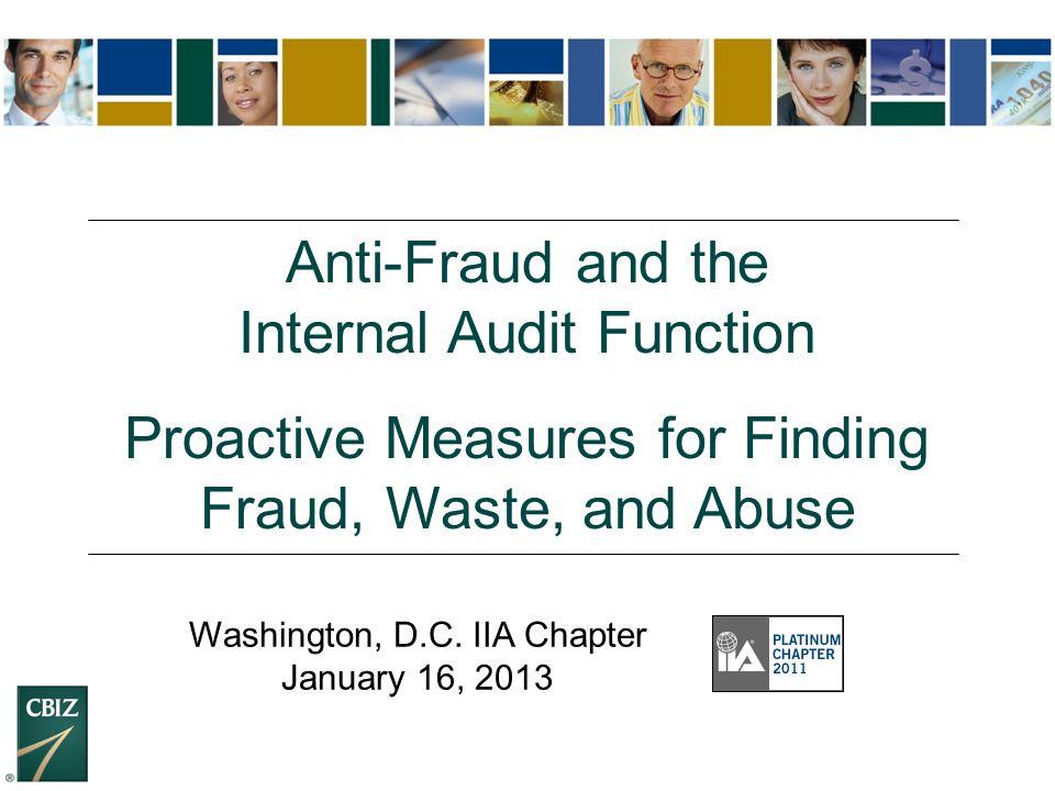 42 How is Fraud Detected.