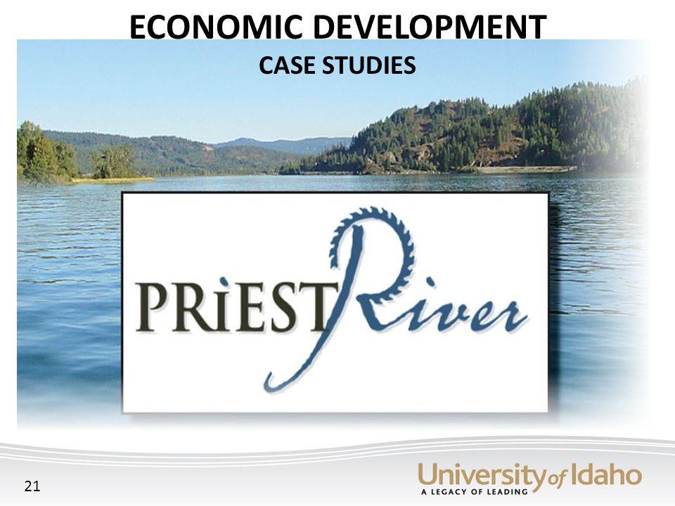 ECONOMIC DEVELOPMENT CASE STUDIES 21