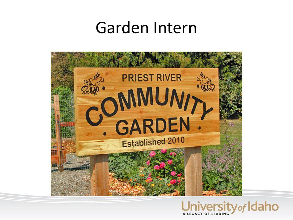 Garden Intern