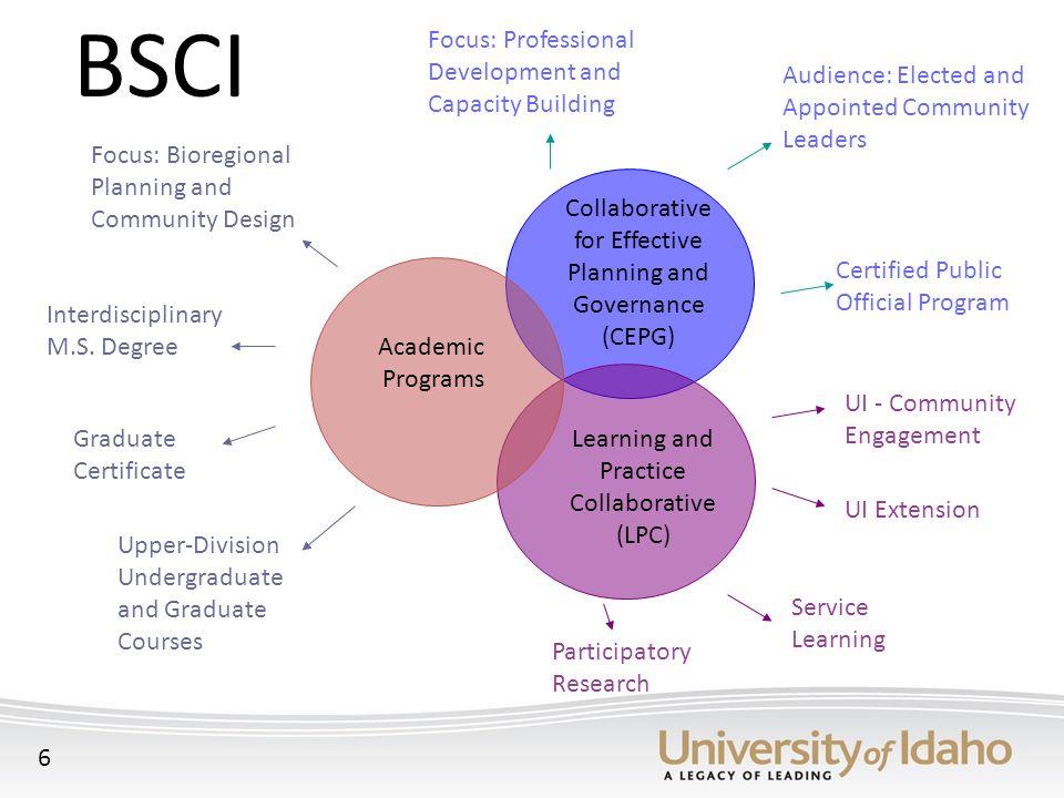 Focus: Bioregional Planning and Community Design Interdisciplinary M.S.