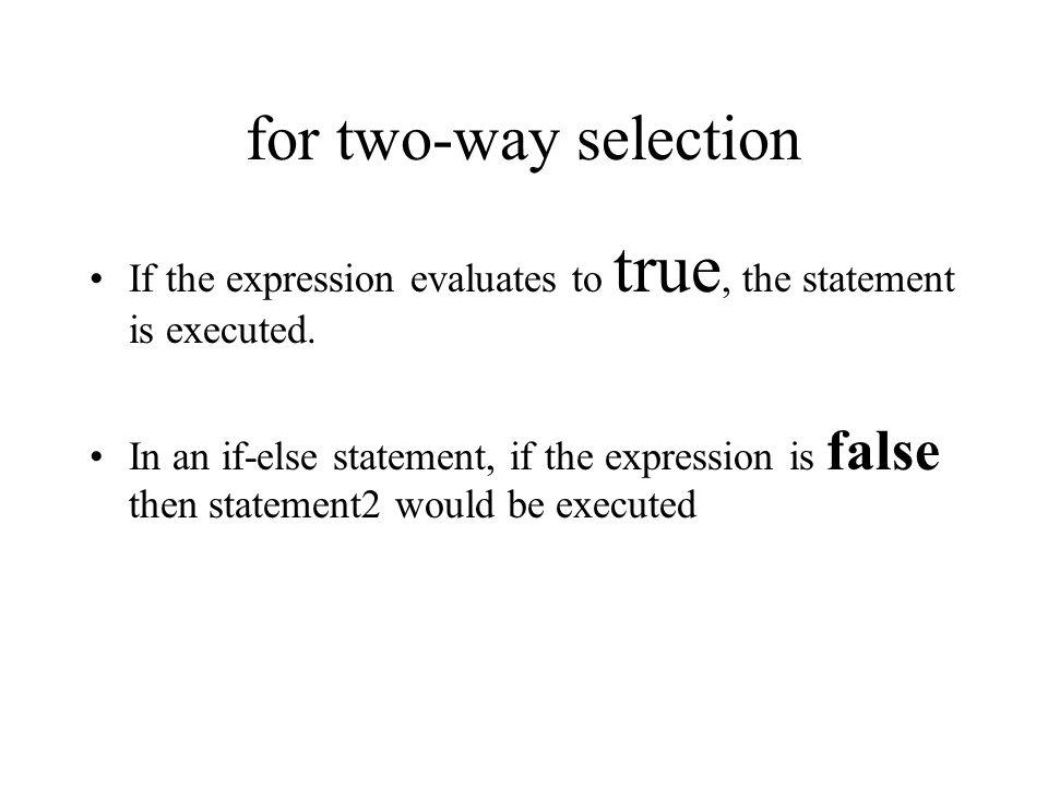 End with a default default: statement; break;