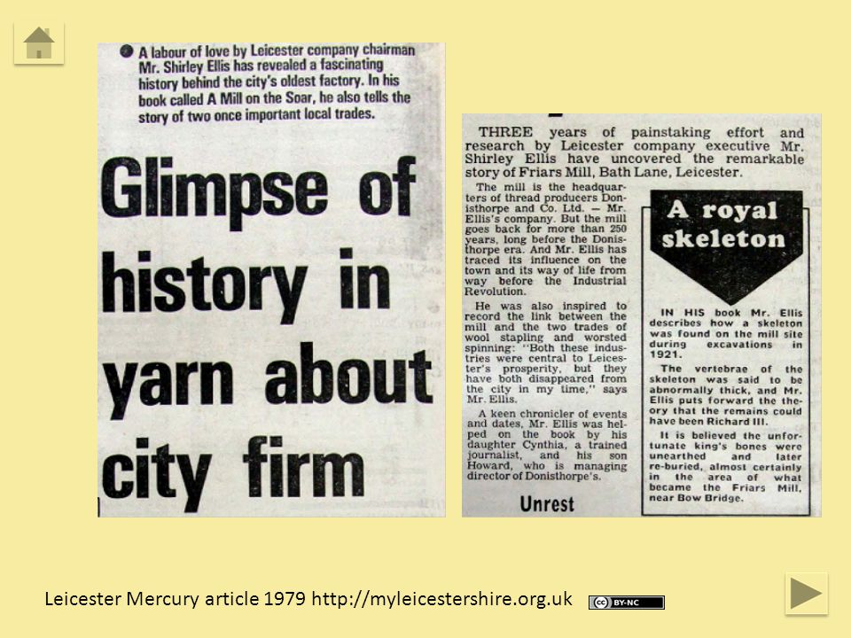 Leicester Mercury article 1979 http://myleicestershire.org.uk