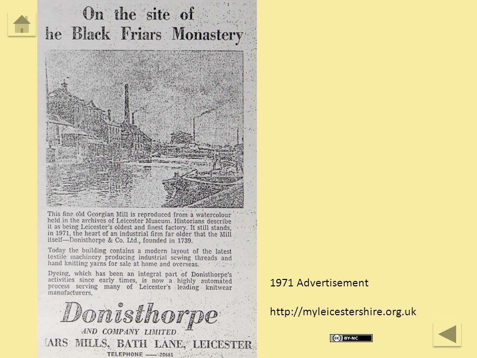 1971 Advertisement http://myleicestershire.org.uk