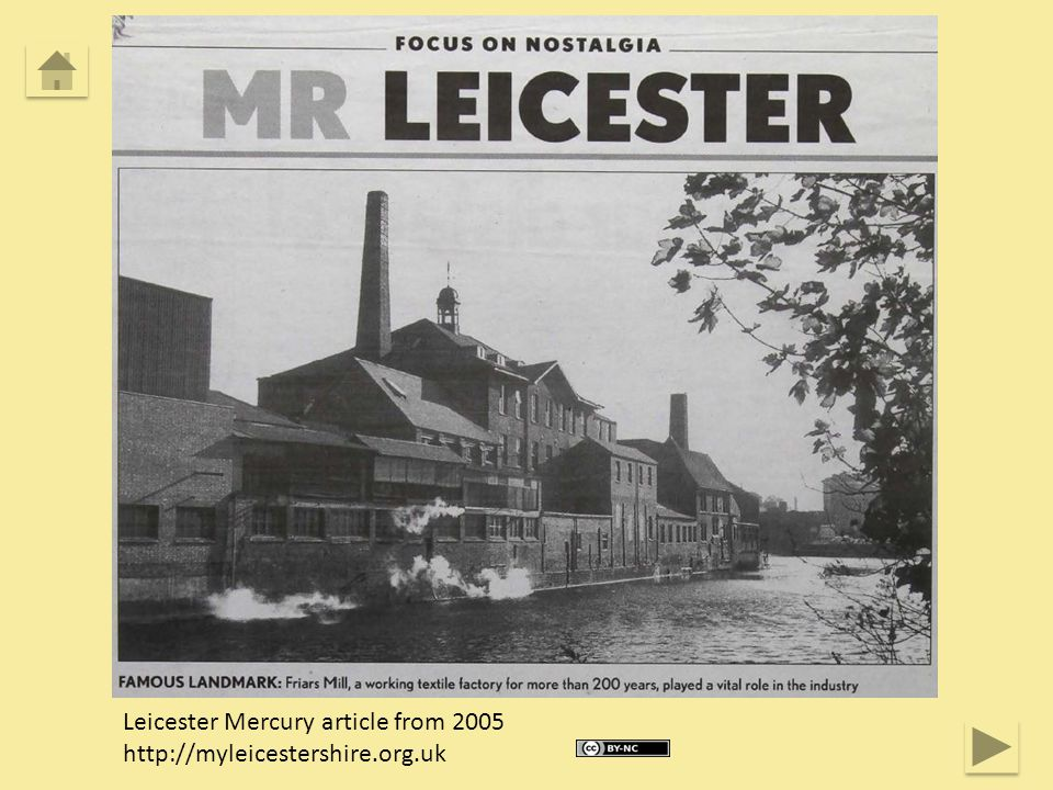 Leicester Mercury article from 2005 http://myleicestershire.org.uk