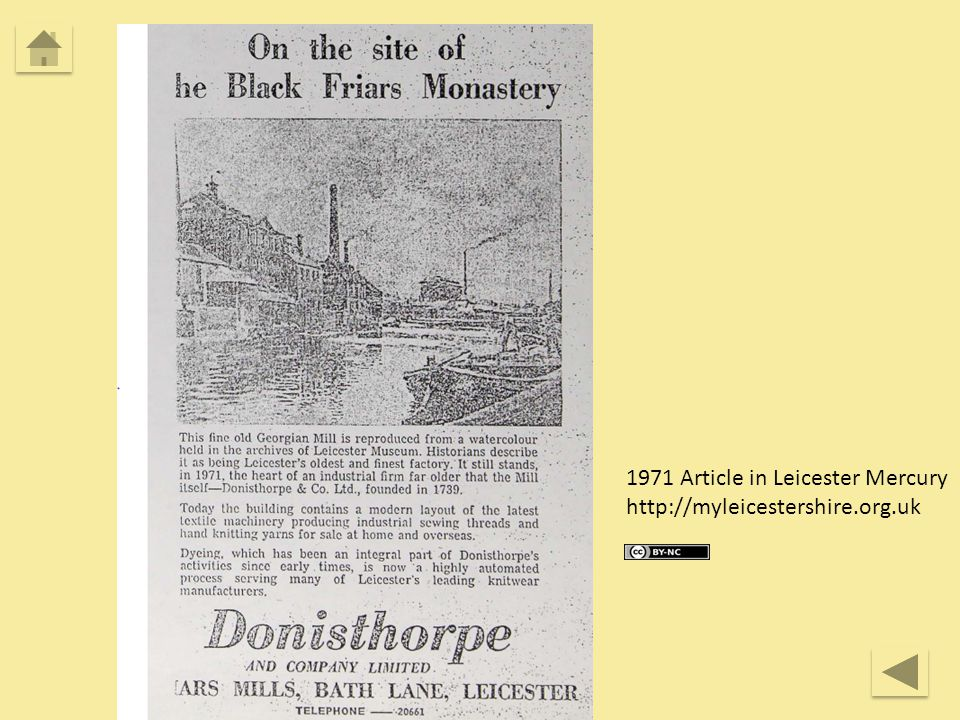 1971 Article in Leicester Mercury http://myleicestershire.org.uk