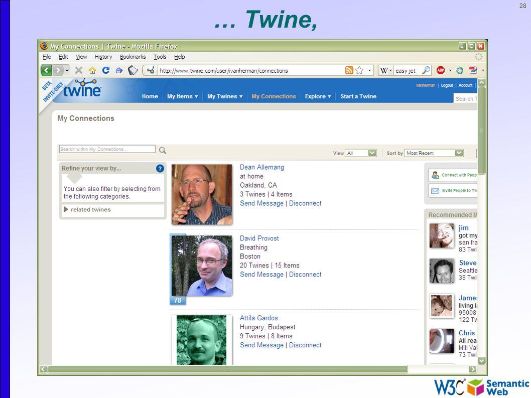 28 … Twine,
