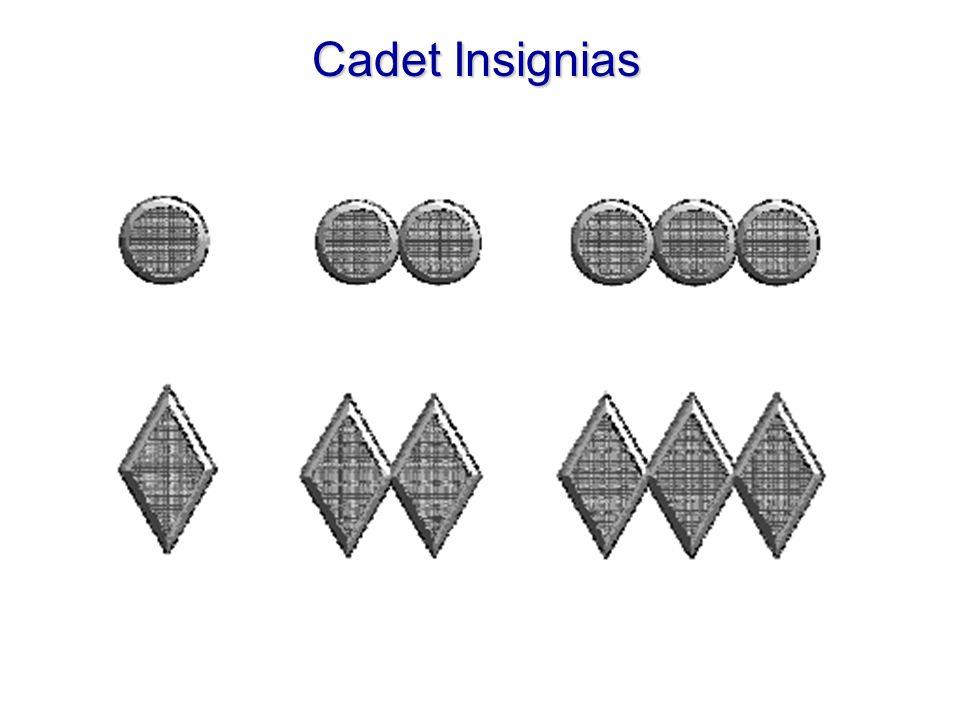 Cadet Insignias