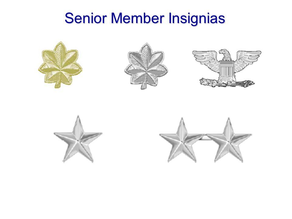 Senior Member Insignias