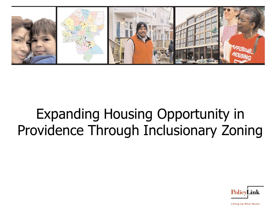 Expanding Housing Opportunity in Providence Through Inclusionary Zoning
