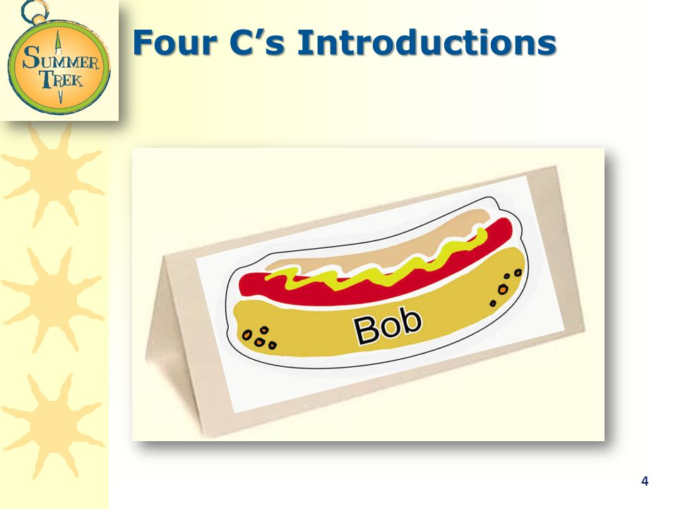 Four C's Introductions 4