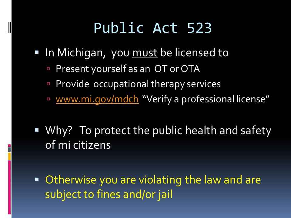Selected Violations: 333.16221  Lack of good moral character.