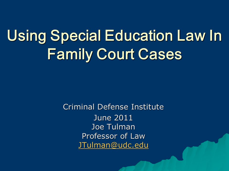 22 DISABILITY AND DELINQUENCY DEFENSE: Basic Strategies