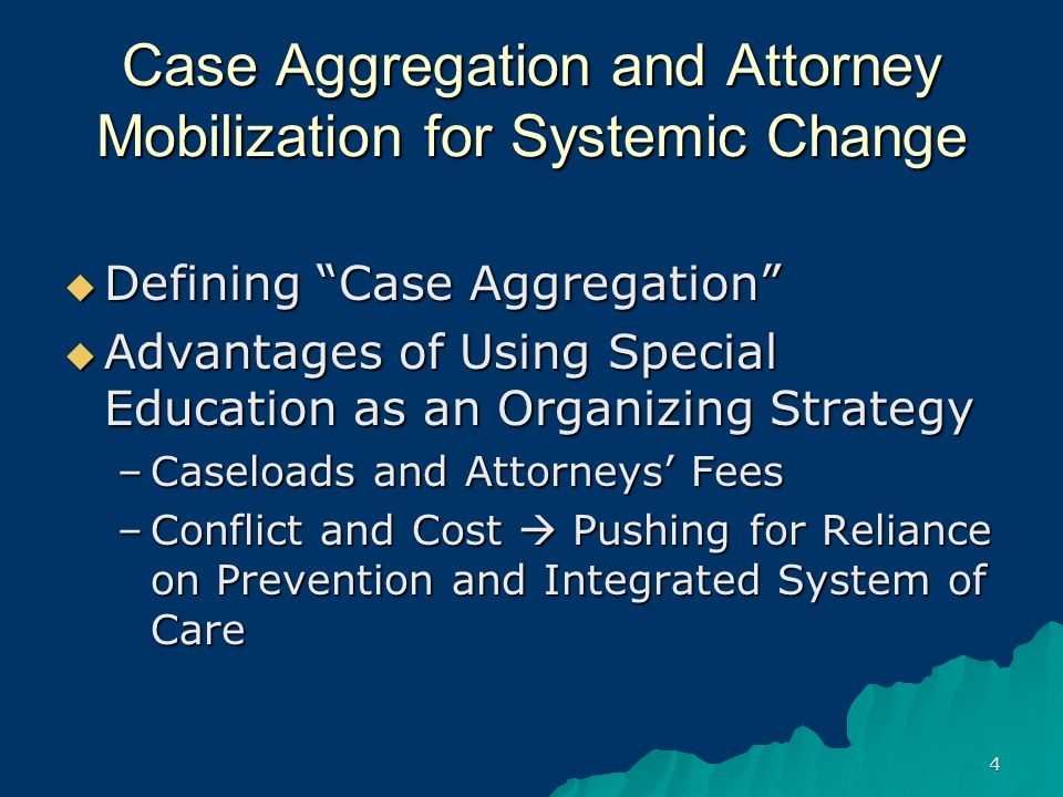 5 Special Education Advocacy To Defeat Delinquency Jurisdiction or Enhance Defense  Disability Disparity  Advantage of Using Disability Rights  Special Education Law and Practice (Quick Overview)  Strategies for Delinquency Defense