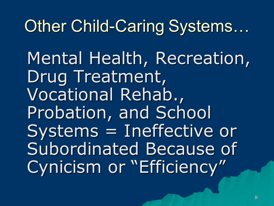 59 Disposition: Special Education Services As Alternative to Incarceration –Use the Continuum of Care in Special Education –Creative Use of Related Services, Transition Services, and Burlington Remedy –LRE and Treatment as Precepts in Delinquency and Disability Law –Best Interest of Child as Precept in Delinquency Law –Child Welfare System Placement as Alternative