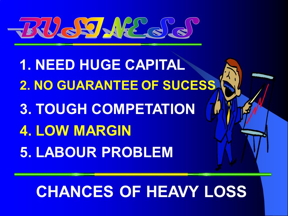 1.FIXED HOURS 2.FIXED EARNINGS 3.NO FINANCIAL FREEDOM 4. NO JOB GUARANTEE 5. GLOBAL MELTDOWN 6. NO CHANCE OF EARNING MORE TOTALLY COMPROMISED LIFE