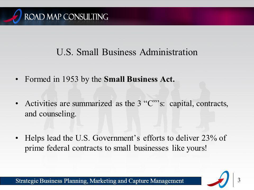 3 Strategic Business Planning, Marketing and Capture Management U.S.