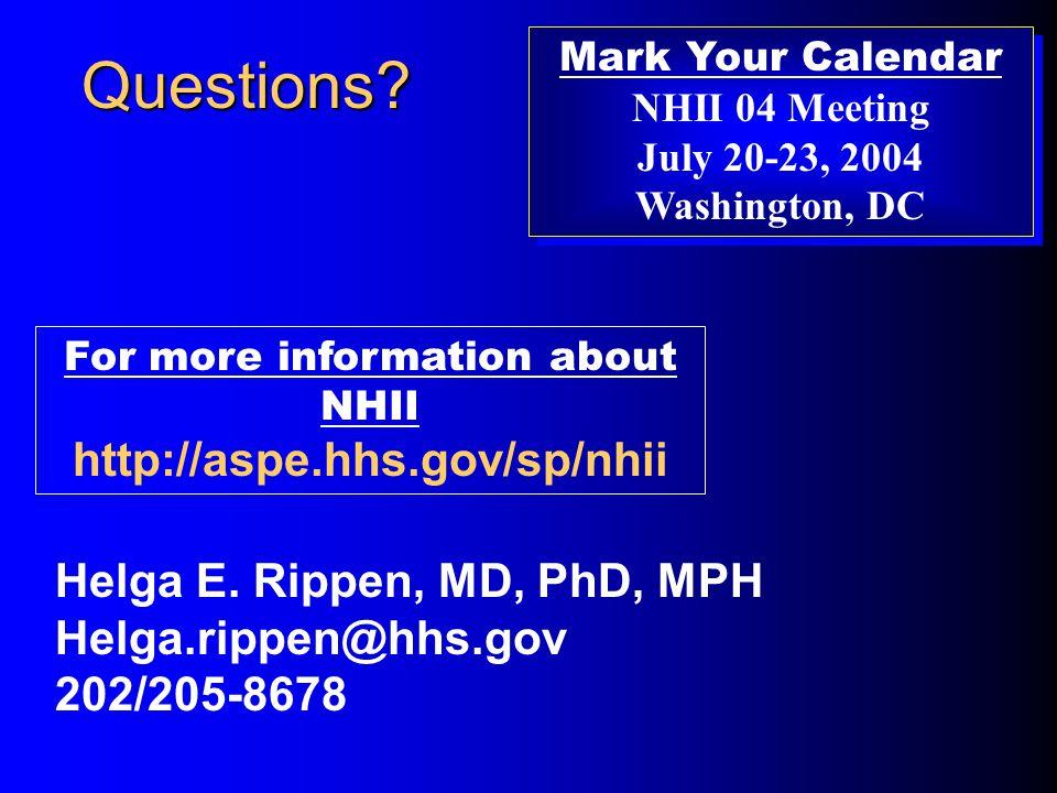 Questions. Helga E.
