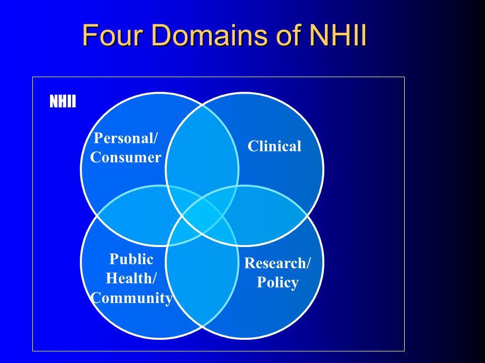 Overview The case for an NHII NHII requirements & implementation strategy Accelerating NHII progress Synopsis of the NCR-LHII activities  Your role