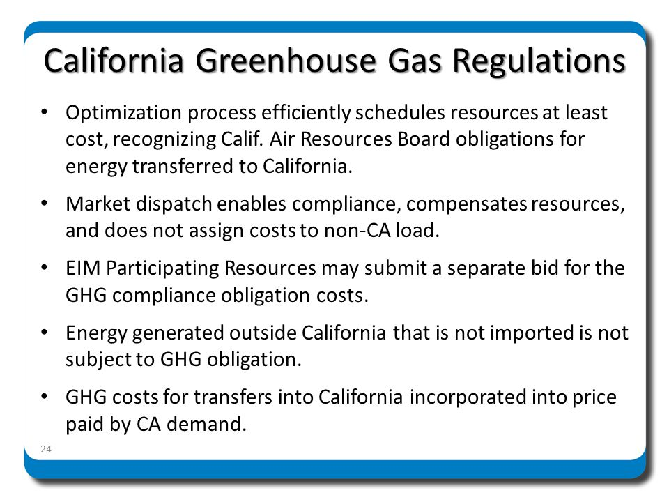 Energy Imbalance Market Summary EIM provides reliability and financial benefits to California, EIM participants, and the West CAISO implementation is based on its existing platform to provide a flexible and scalable approach, at low cost, to other balancing authorities EIM implementation helps facilitate renewable integration across the West 25