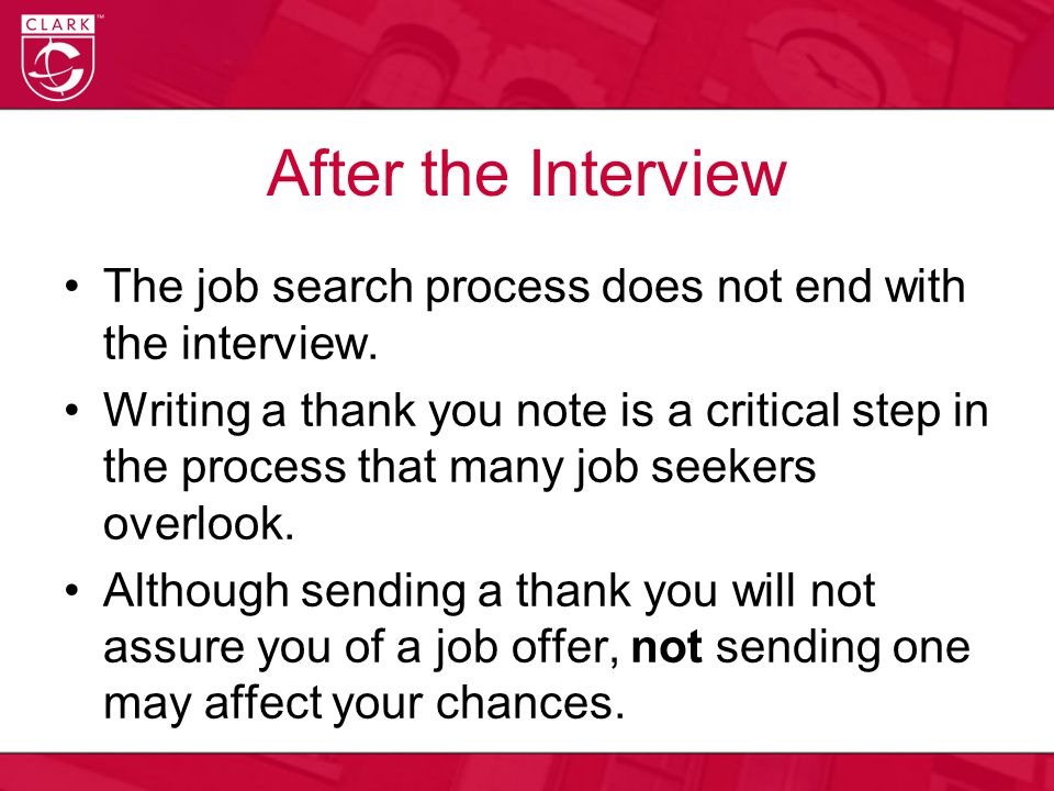 Some Helpful Hints At the end of the interview, request the business card of the person you spoke with.