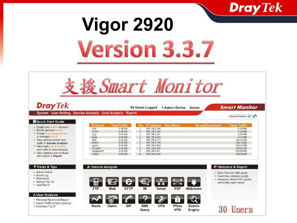 Vigor 2920