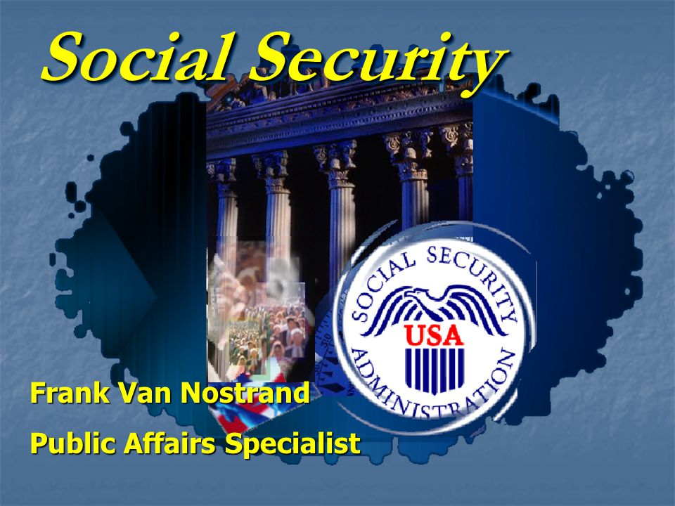 Social Security Programs Retirement Insurance Survivors Insurance Disability Insurance