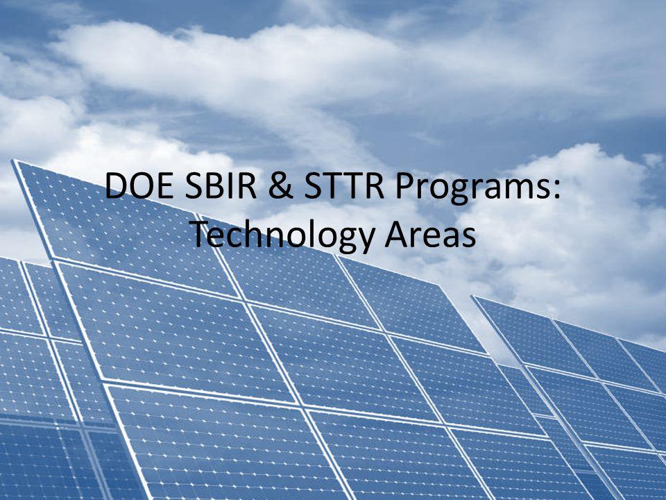 SBIR/STTR Programs Office U.S.