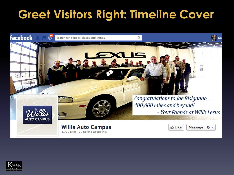 Greet Visitors Right: Timeline Cover