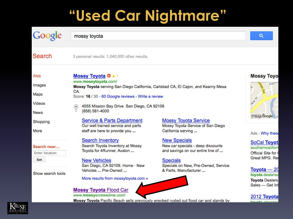 Used Car Nightmare