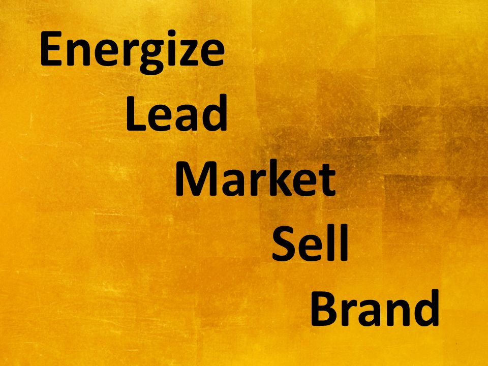 Energize Lead Market Sell Brand