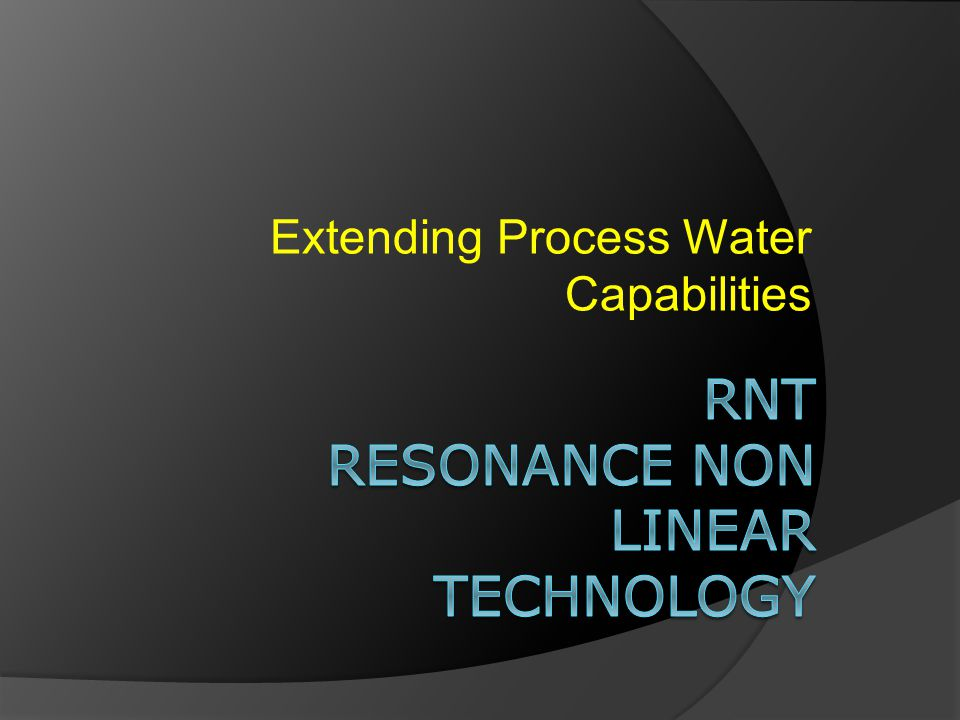 Extending Process Water Capabilities