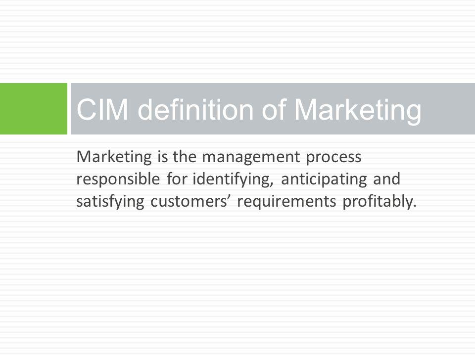 Marketing Segmentation - Business to Consumer