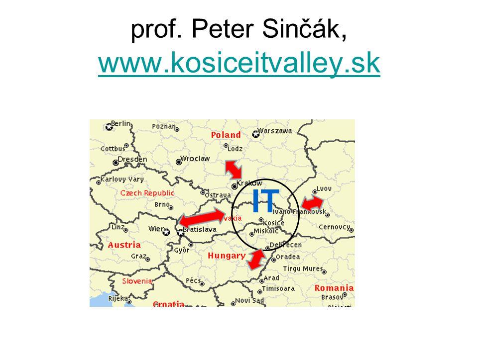 prof. Peter Sinčák, www.kosiceitvalley.sk www.kosiceitvalley.sk IT