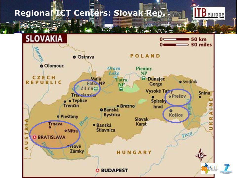 Regional ICT Centers: Slovak Rep. Žilina