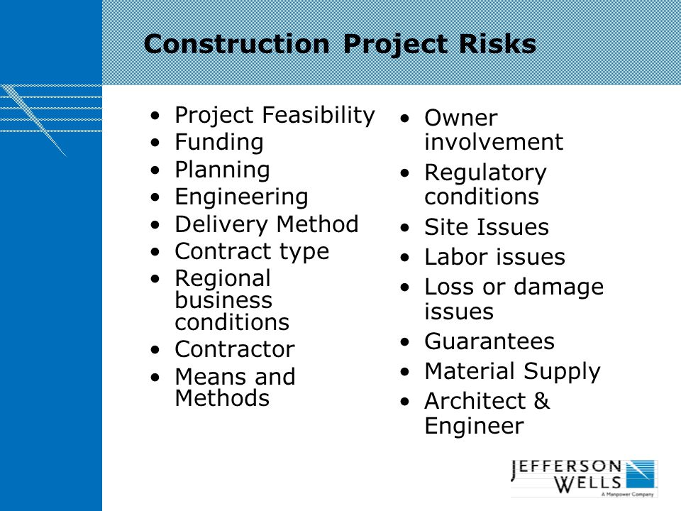 Elements of a Construction Project Schedule CostQuality Schedule Construction Project