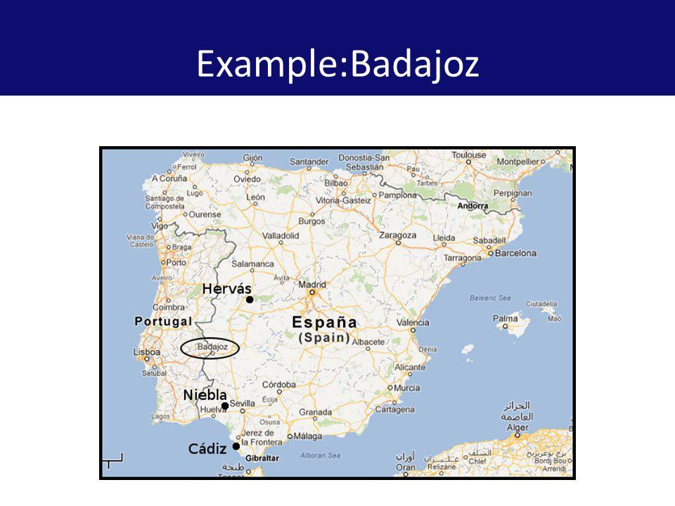 Example:Badajoz