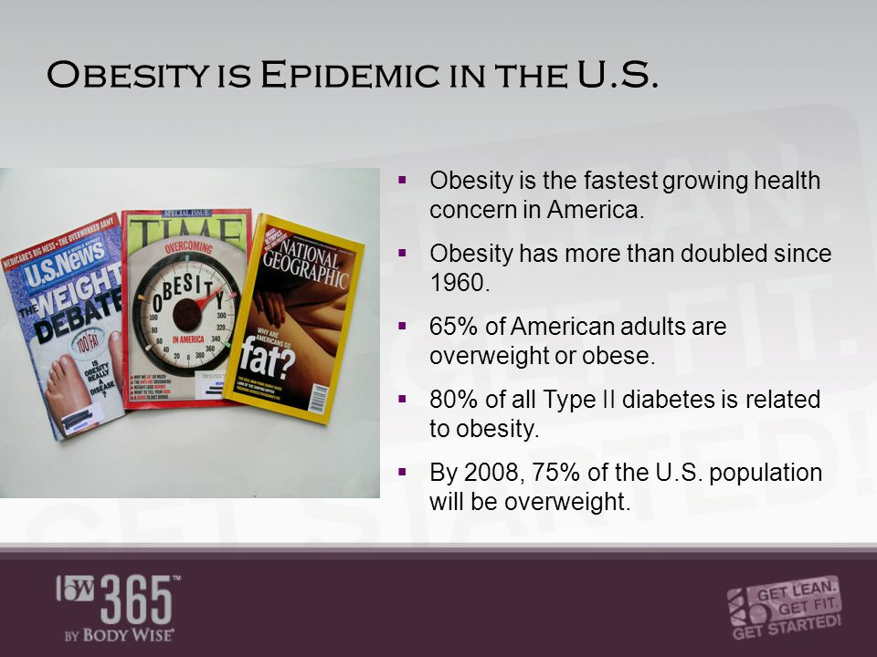 A Health Crisis Obesity in Children & Teens  One-third of all children and teenagers are overweight.